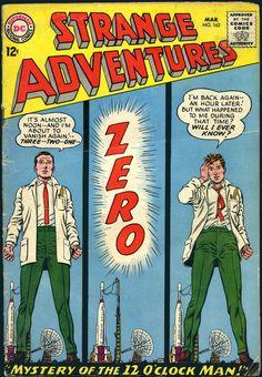 A cover gallery for the comic book Strange Adventures Sci Fi Comics, Old Comics, Horror Comics, Vintage Comics, Science Fiction, Pulp Fiction, Dc Comic Books, Comic Book Covers, Comic Art