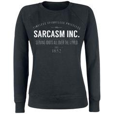 Sarcasm Inc.  Sweatshirt  »Sarcasm Inc.« | Jetzt bei EMP kaufen | Mehr Fun-Merch  Sweatshirts  online verfügbar ✓ Unschlagbar günstig!
