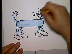 pete cat drawing - YouTube      How to draw Pete to Cat tutorial
