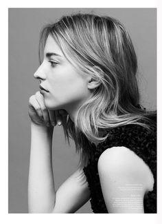 Elena Peter beauty shoot for Russh Magazine June 2016 issue