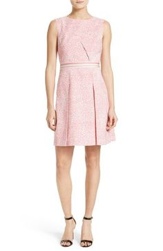 Ted Baker London Fish Print Fit & Flare Dress available at #Nordstrom