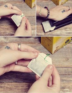Donkey and the Carrot: DIY: PERSONALIZED TEA BAGS! ΦΤΙΑΞΤΟ ΜΟΝΟΣ ΣΟΥ: ΦΑΚΕΛΑΚΙΑ ΤΣΑΓΙΟΥ