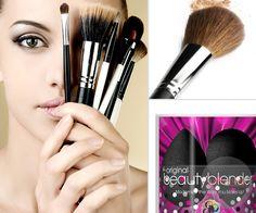 Sminkecsetek, eszközök, szivacsok Blog, Beauty, Blogging, Beauty Illustration