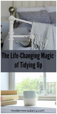 "Good summary of the KonMari method of decluttering and organizing. Based on the book ""the life-changing magic of tidying up"" by Marie Kondo. Dresser Drawer Organization, Home Organisation, Organization Hacks, Diy Cleaning Products, Cleaning Solutions, Cleaning Hacks, Casa Clean, Clean House, Organizar Closet"