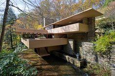 Fallingwater House (Casa de la Cascada), Fayette County, Mill Run Rd, Pennsylvania, United States, 1935 — 1939 | José Miguel Hernández Hernández
