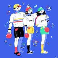 Fashion Illustration Design seyoung Yoon on Behance - Simple Illustration, Character Illustration, Graphic Design Illustration, Digital Illustration, Character Design References, Illustrations And Posters, Motion Design, Drawings, Behance