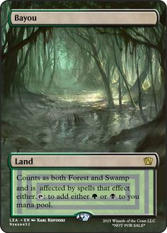 MTGO Cube Alternate Art  Bayou SA If you have any suggestions for a card you would like to see let me know.