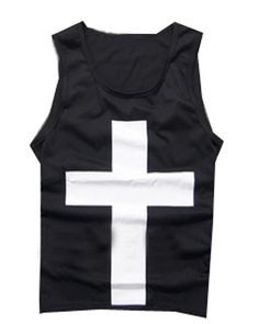 Camplayco Bigbang G-Dragon Black Sleeveless T-shirt Cosplay Costume Size X-Large -- Read more at the image link.
