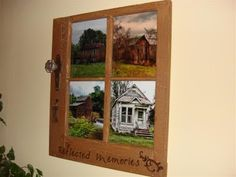 Livin' Life: 4 Pane Window Picture Frame DIY