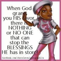 Blessings through God!