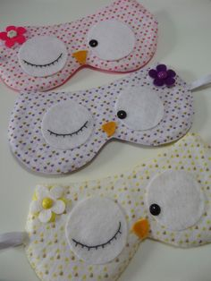 2014 Creative Hot And Cold Compress Cartoon Sleeping Eye Mask EyePatch With Ice Cooler Bag,Cute Cat Sleeping Eyeshade For Travel Felt Crafts, Fabric Crafts, Sewing Crafts, Sewing Projects, Pirate Eye Patches, Baby Girl Dress Patterns, Diy Patches, Sleep Mask, Love Sewing