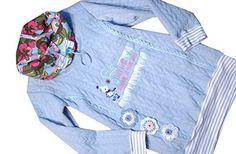 Buntes Mädchenshirt, Mädchenlangarmshirt mit Stickerei, S... https://www.amazon.de/dp/B01N0SM93L/ref=cm_sw_r_pi_dp_x_I0GAyb9A219KW