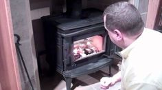 Really good instructions on how to light a log burner