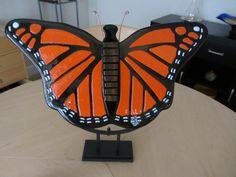 La mariposa - glass fusion - 20x10