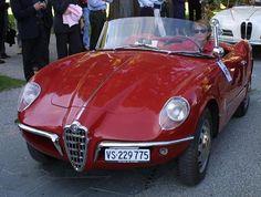 Alfa Romeo - Giulietta Sprint Spider prototipo Bertone - model published at www.allcarindex.com