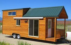 This cabin is just one example of the many beautiful prefabhomes built by Rich's Portable Cabins. RPC specializes in prefab park model homes, portable cabins, and tiny homes. This home has all the luxuriesof a larger cabin in a small, portable package, including sliding glass doors, a porch outside the front door, and plenty of...Read More »