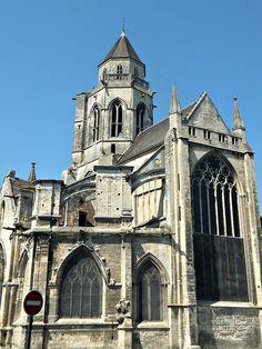 Eglise Saint-Etienne-le-Vieux, Caen,