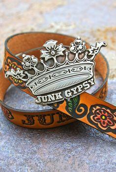 JUNK GYPSY CROWN BUCKLE - Junk GYpSy co.