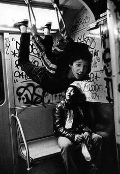 StephenShames, Subway, Times Square, New York City, 1980
