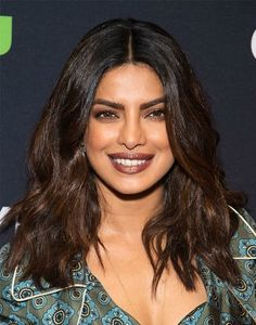 Ombré is a dye job typically done with blonde tips, but the latest stars are taking the barely-there route. Priyanka Chopra, Selma Hayek and Sasha Lane fade their naturally dark roots to a warm, chocolate brunette that richly contradicts the cooler season.