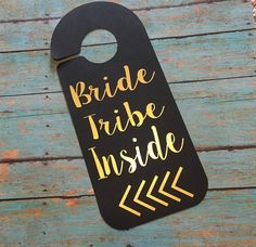 such a cute door hanger! | Ideas For An Unforgettable Bachelorette Party | Kennedy Blue