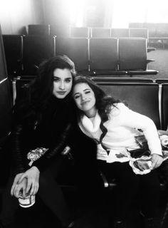 Lauren and Camila!
