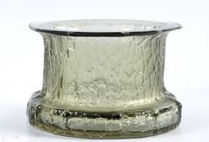 "TIMO SARPANEVA - Glass bowl ""Finlandia"" -series for Iittala, Finland. [h. 10 cm, Ø 15 cm]"