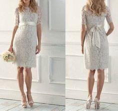 2015-Summer-Fashion-Wedding-Dress-Bridal-Gowns-Custom-Size-6-8-10-12-14-16-18-20