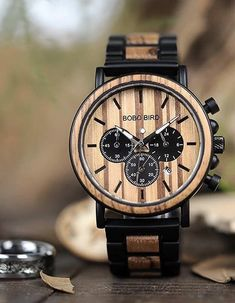 Watches made by nature zebra wooden and stainless.Watches movement is  Miyota 2035 Quartz Movement.Style  Fashion de6686405f