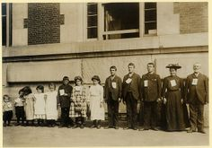 Dutch immigrant Dingenis Glerum with his wife and 11 children | Flickr - Photo Sharing!