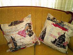 Retro Design Pillows..