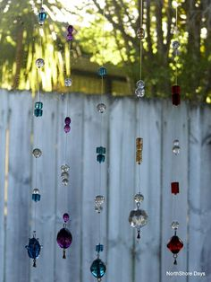 Beaded sun catchers - one for the kids; I still have one hanging in my kitchen made by my daughter about 15 years ago.