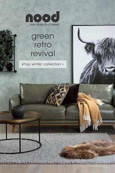 Modern Man Cave, Sofa Shop, Next At Home, Modern Sofa, Inspired Homes, Sofa Furniture, Colorful Decor, Brown And Grey, Sofas