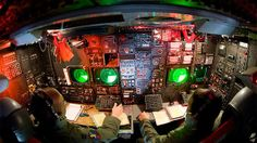 CONECT also improves internal communication between the flight crew, who will see their cathode-ray tube displays and analog phones replaced with the latest digital systems. Pictured, an aircrew on the lower deck of a B-52 at Minot Air Force Base. (Photo: Master Sergeant Lance Cheung)Slideshows   National Review Online