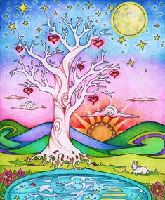 Want to discover art related to motherearth? Check out inspiring examples of motherearth artwork on DeviantArt, and get inspired by our community of talented artists. Tree Of Life Art, Tree Art, Illustrations, Illustration Art, Frida Art, Heart Tree, Osho, Art Journal Inspiration, Whimsical Art