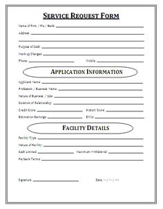 Medical service request form a service request form is a pre medical service request form a service request form is a pre drafted document that can be treated as an application to request any kind of service yadclub Gallery