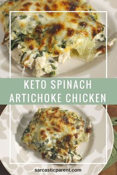 Low Carb Spinach Artichoke Chicken. Trying to make a regular recipe more Keto friendly is much easier than it seems. Most of the type the carbs that are part of casseroles are just for bulk. They are really just there to make the meal seem more substantial. When you are eating keto meals and that is the way of …