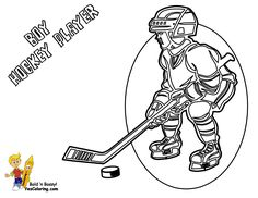 Gongshow Hockey Coloring Sheets Players Wow httpwww
