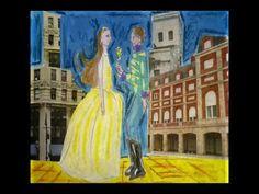 Vals de la vereda. (Caracachumba) Una hermosa canción en tiempo de vals que además de su hermosa poesía, se puede trabajar género musical, estructura y hasta si se animan hacer bailar a los chicos un vals.  Si bien es una canción que tiene mucha letra, se puede trabajar en varias clases como una historia que se va develando en cada estrofa.  Los chicos se enamoran de ella. Projects To Try, Painting, Music Genre, Waltz Dance, Short Stories, Literatura, Guys, Songs, Sweetie Belle