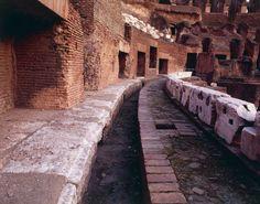 Il Colosseo: particolare dell'interno