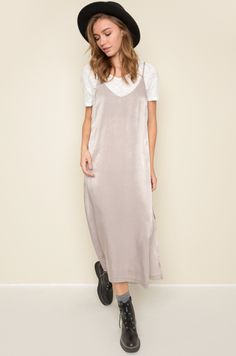 Daybreak Slip Dress #mooreaseal