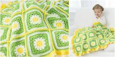 Daisy Blanket Free Pattern