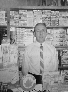 Canadian hobby shop owner and his collection of kits.