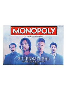 Supernatural Monopoly Board Game,