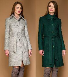 Palton dame clasic din stofa de lana tip bucle OZANA by Ariete Atelier Shirt Dress, My Style, Shirts, Dresses, Fashion, Curve Dresses, Shirtdress, Gowns, Moda