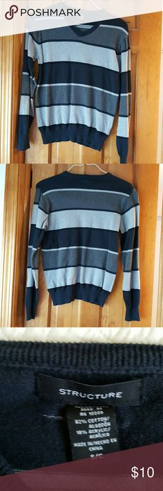BUY1GET2FREE         Structure v-neck sweater Structure v-neck sweater small Structure Sweaters V-Neck