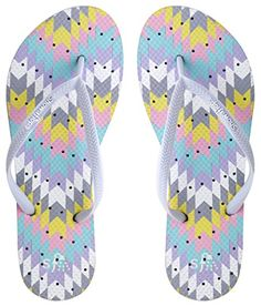 f2ae76911 Showaflops Womens Antimicrobial Shower Water Sandals for Pool Beach Dorm  Gym Aztec Pastel 910    Check out the image by visiting the link.