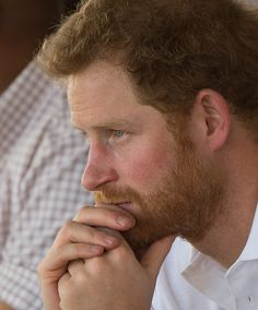Prince Harry looks on as he attends the opening of Sentebale's Mamohato Children's Centre during an official visit to Africa on November 26, 2015 in Maseru, Lesotho.