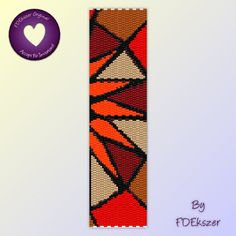 Corona - Peyote Stitch Beading Pattern for cuff bracelet - pdf - bp210 / Buy any 2 patterns get 1 free special offer. $6.50, via Etsy.