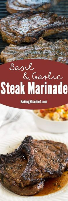 You are in for a MASSIVE treat today friends! This is the best #steakmarinade EVER!